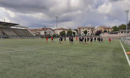 ALLENAMENTO POMERIDIANO IN VISTA DELLA GARA CONTRO L'OLBIA
