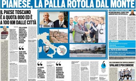 PIANESE NELLA SEZIONE LE STORIE DI LEGA PRO SU TUTTOSPORT